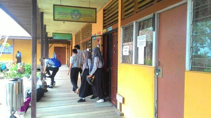 Lembar Soal Ujian Tak Sampai, Satu Sekolah Di Inhil Terpaksa Ikuti Ujian Nasional Susulan