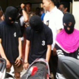 Polisi Bekuk 5 Kawanan Pelaku Curanmor Yang Beraksi Dengan Pistol Mainan Di Pekanbaru