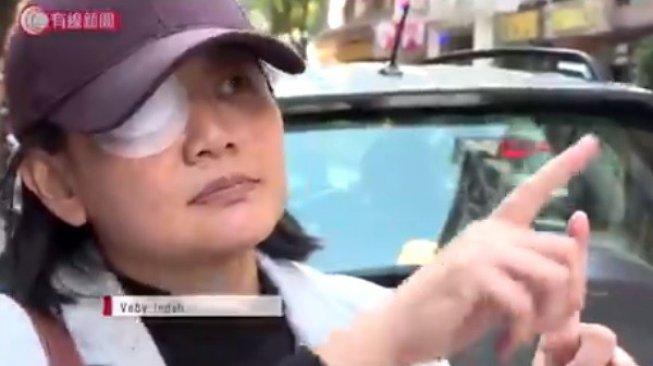 Ditembak Polisi Hong Kong, Veby Mega Jurnalis Indonesia Menuntut Keadilan