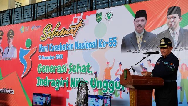 Bupati HM.Wardan: 'HKN Ke-55 TH 2019 Fokus Menangani Stunting'