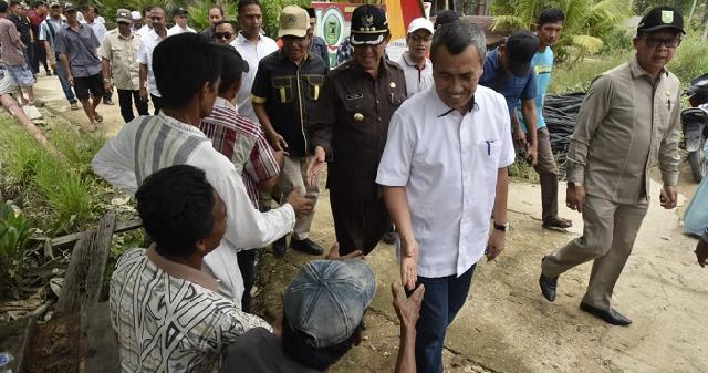 Bupati Inhil Sambut Kunker Gubernur Riau