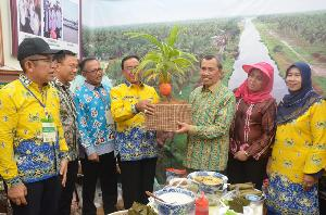 Bupati Inhil HM Wardan Hadiri Peda KTNA Riau di Kuansing
