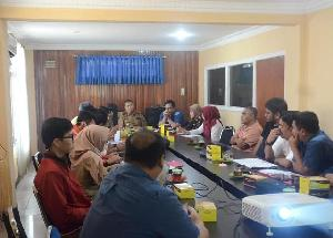 Rapat Evaluasi Kinerja Pembangunan dipimpin Wabup Inhil