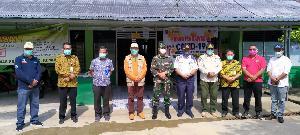 Kadiskes Inhil Tinjau Persiapan Posko Perbatasan Riau-Jambi