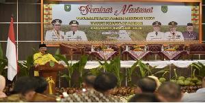 Gelar Seminar Nasional, Bupati Inhil Hadirkan Pelaku Industri Kelapa Sebagai Peserta