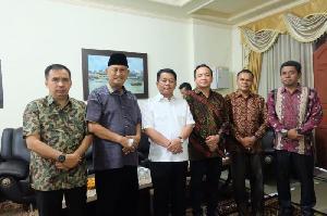 Wakil Bupati Sambut Kunker Kejati Riau ke Inhil
