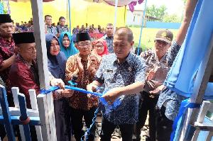 Wabup Inhil Resmikan Bangunan Baru MTs Hj Zubaidah Reteh