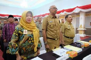 Pjs Bupati Inhil dan Sejumlah Pejabat Ikuti Rakor Bersama KPK