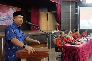 Wakil Bupati Hadiri Penutupan Sidang Pleno KPU Inhil